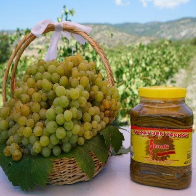 4 adet 3000 gr Bidonda Salamura Tokat Bağ Yaprağı