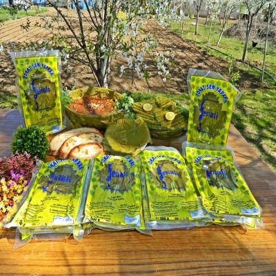 10 adet 400 gr Vakumlu Poşette Tokat Bağ Yaprağı