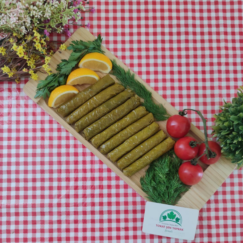Ev Tipi Zeytinyağlı Yaprak Sarma 800 gr 2 adet(Pişirmeye Hazır Dondurulmuş)